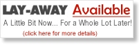 Layaway is Available!